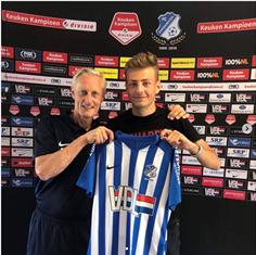 Flor Van den Eynde maakte deze zomer de overstap naar het Nederlandse FC Eindhoven. C: Instagram Flor Van den Eynde